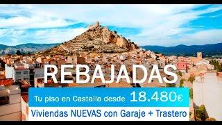 Pisos NUEVOS en venta en Castalla (Alicante) | Viviendas a Estrenar