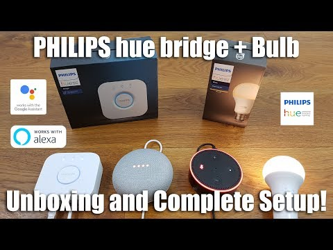 Philips HUE Unboxing and Complete Setup