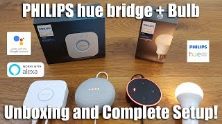 Philips HUE Unboxing and Complete Setup for Beginners