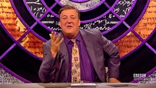 QI Hosted by Stephen Fry- Thursday Feb 19th 8/7c on BBC America