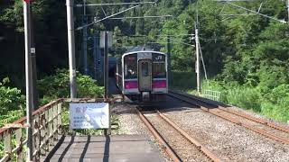 【奥羽本線】701系N8  津軽湯の沢発車