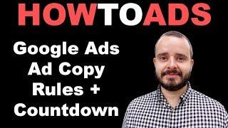 Google Ad Copy Tipps + Countdown widget Standout von Ihren Mitbewerbern