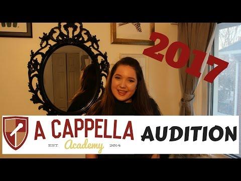 A Capella Academy Audition 2017 - Megan Clark
