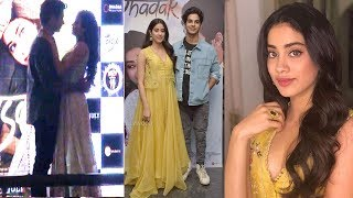 Dhadak Title Song Launch Complete Video HD-Sridevi's Daughter Jhanvi Kapoor & Bf Ishaan Khattar