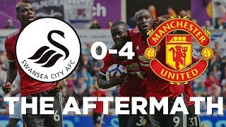 MAN UTD ON FIRE! | SWANSEA 0-4 MANCHESTER UNITED | THE AFTERMATH: LIVE thumbnail