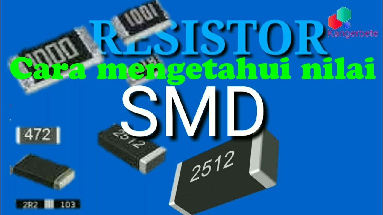 Cara menghitung nilai resistor smd - YouTube