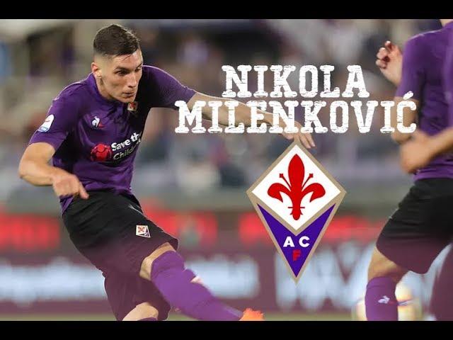 NIKOLA MILENKOVIC | Fiorentina Serbian Tower - YouTube
