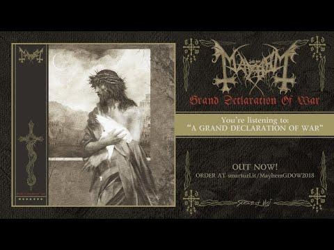Mayhem - Grand Declaration of War (2018) Full album