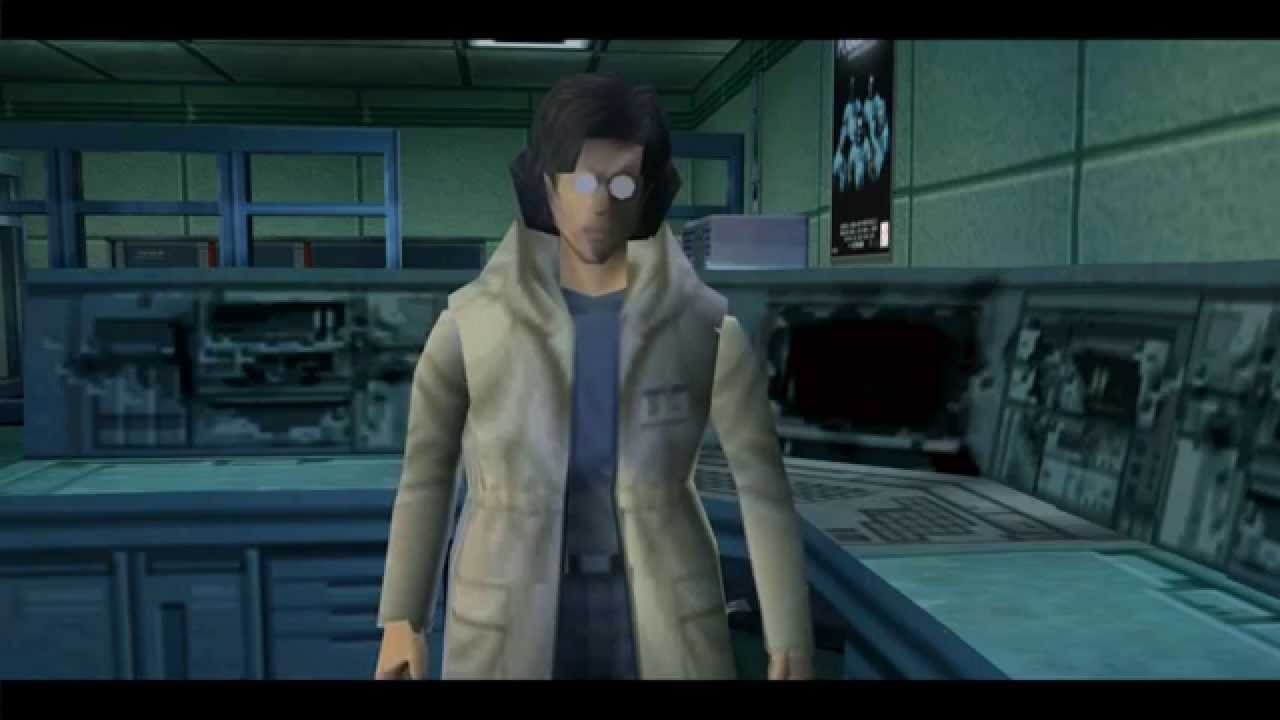 Image result for Otacon and solid snake Grey fox