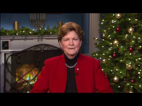 Holiday Greetings from Senator Jeanne Shaheen