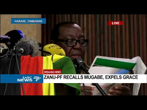 Mugabe has till 12pm on Monday to resign or face impeachment