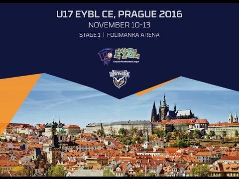 EYBL: Basketball Academy Budapest - USK Prague