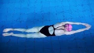 Тренировки по плаванию в бассейне Видео академия спорта и туризма 2016