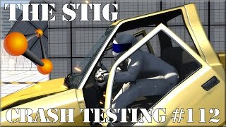 BeamNG Drive The Stig Crash Testing #112