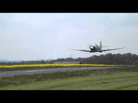 Supermarine Spitfire MK26 Fly-Past