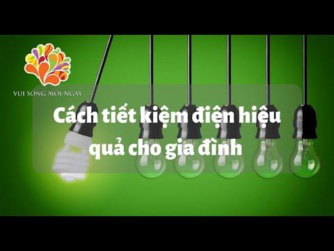 Mẹo tiết kiệm điện trong nhà - Vui Sống Mỗi Ngày [VTV3 – 30.11.2015]