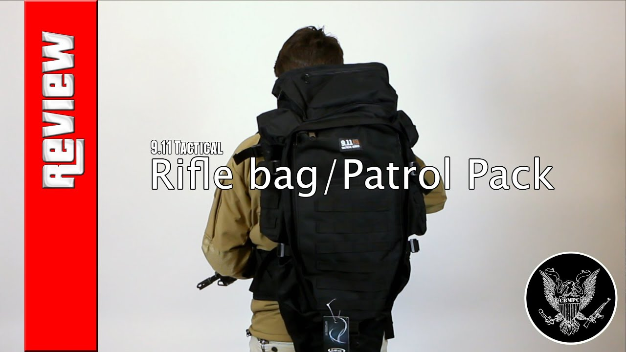 Gear Review 911 S Zone Patrol Pack Rifle Bag Combo