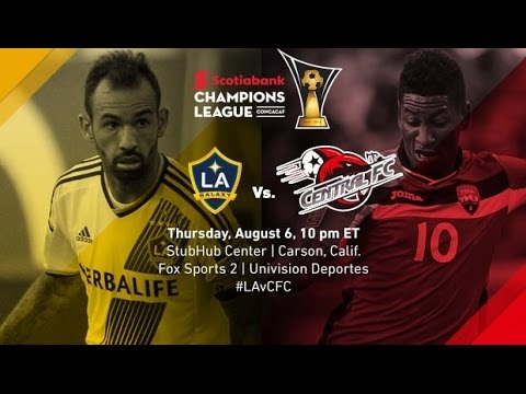 LA Galaxy vs Central FC 5-1 | CONCACAF CHAMPIONS LEAGUE | English Commentary 07/08/2015