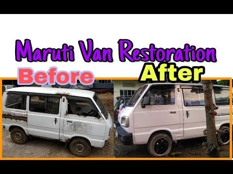 Maruti Van Restoration    Part 3 final    Omni Van Restore