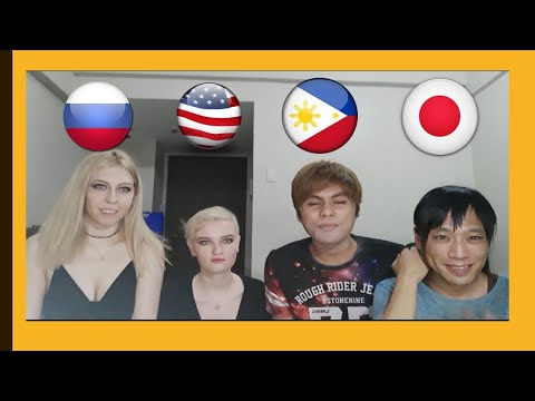 Difference in Pronunciation between FilipinoRussianJapaneseChinese Part 2