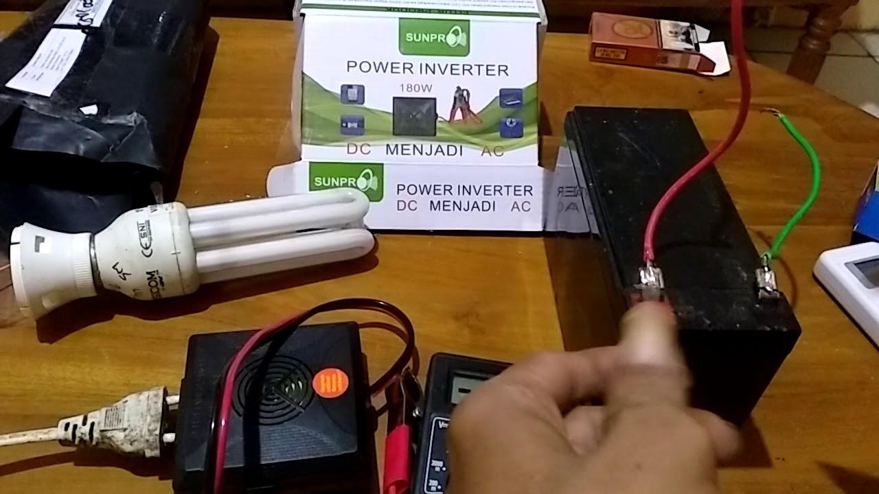 Komplen Pembelian Inverter Sunpro Transaksi Bl 170558481042 Youtube Project Membuat Charger Aki Otomatis Auto Cut Off Circuit
