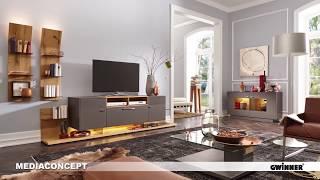 Gwinner Обзор моделей 2018 года. Мебель для гостиной комнаты и обеденной зоны.