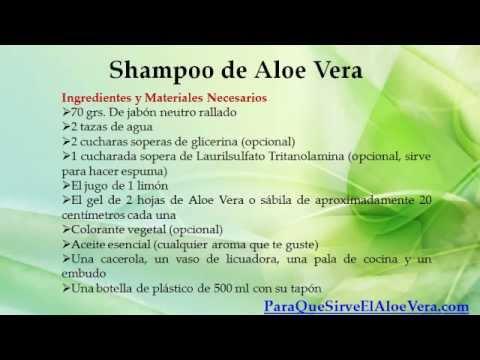 Shampoo de aloe vera champu de aloe vera youtube - Como hacer un ambientador natural para la casa ...