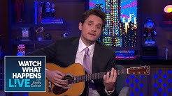 John Mayer Surprises Andy Cohen With A Diana Ross Cover | WWHL
