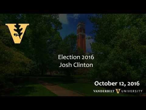 Election 2016: Josh Clinton, 10.12.16