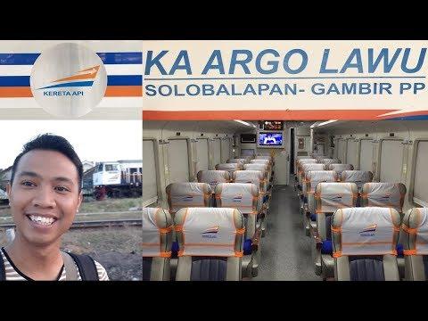 Trip by Train - Argo Lawu Kereta Favoritku