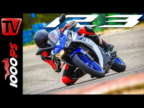 Yamaha YZF-R3 Test 2015   Action, Onboard, Fazit