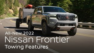 homepage tile video photo for 2022 Nissan Frontier Towing Features