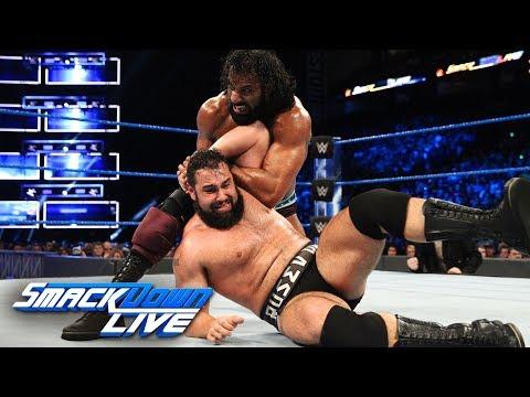 Rusev vs. Jinder Mahal: SmackDown LIVE, April 3, 2018