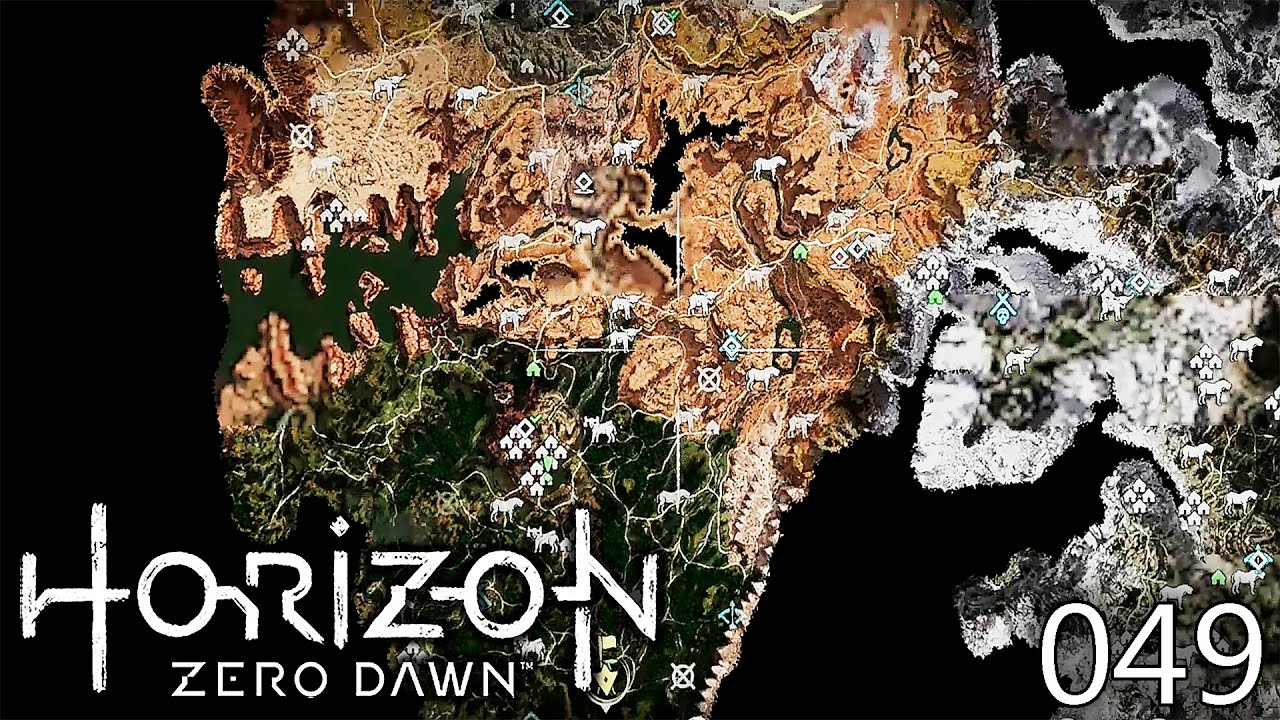 Horizon Zero Dawn Karte.Horizon Zero Dawn 049 Eine Komplett Aufgedeckte Karte Deutsch Let S Play Horizon Zero Dawn