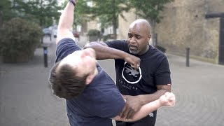 How to stop a hook punch fast