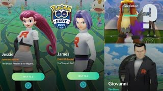 New Rocket Leader Jessie & James in Go Fest Battle Challenge, Giovanni return with Shadow Legendary