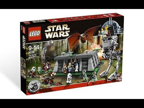 Lego Star Wars 8038 The Battle Of Endor Review Part 1 Youtube