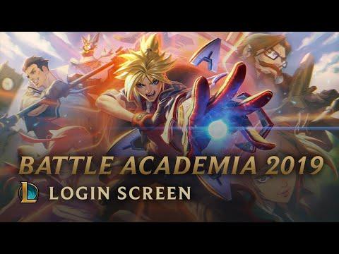 Battle Academia 2019 | Login Screen - League of Legends