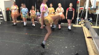 Red Coats: Celtic Tiger Irish Dance Camp. Week 5