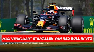 Max Verstappen verklaart stilvallen van Red Bull, FIA doet uitspraak over incident Pérez en Ocon
