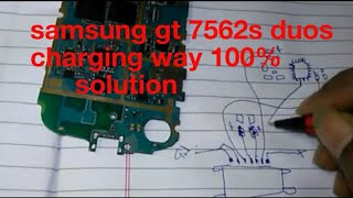 samsung gt 7562s duos charging way 100% solution