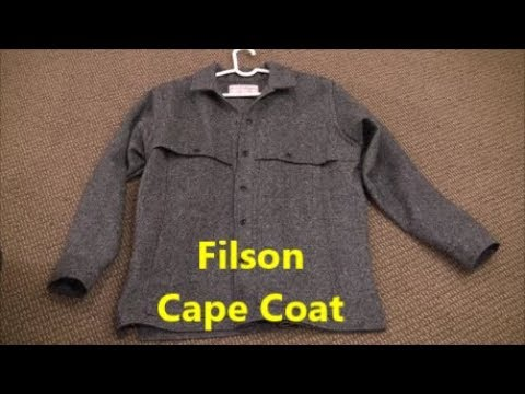 Filson Wool Cape Coat
