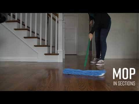 Quick Tip: How to Clean Wood Floors
