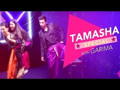 Deepika Padukone & Ranbir Kapoor's Matargashti   Tamasha Special   EXCLUSIVE