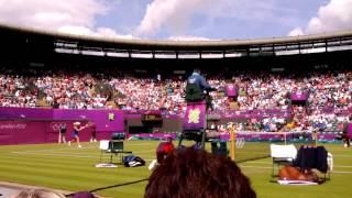 Serena Williams vs Urszula Radwanska rally