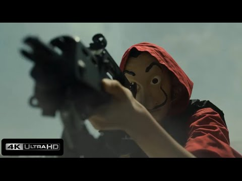 Download Professor Rescues Lisbon-The Money Heist S4 - Gandia Killing Scene - HD1080P- DELTA 1.