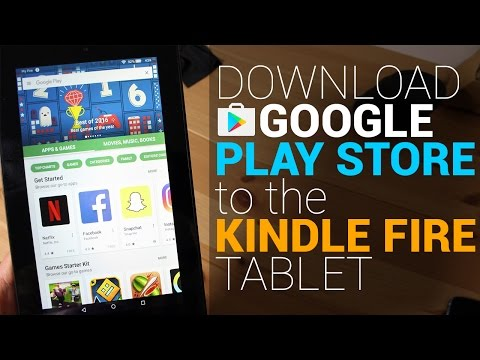Install Google Play Store to the Kindle Fire Tablet (No Root Tutorial)