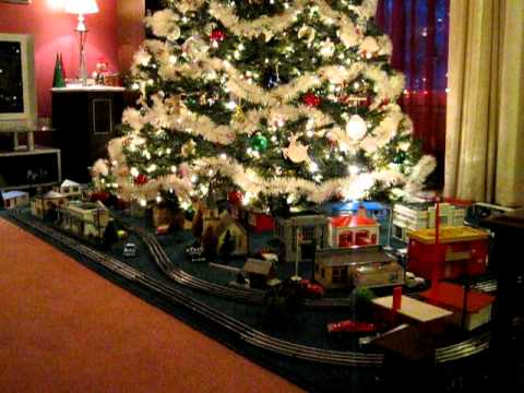 O Gauge Trains Under The Christmas Tree 2011 YouTube - Christmas Trains For Under The Tree