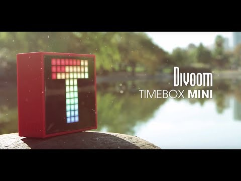 Divoom Timebox Mini Official Video
