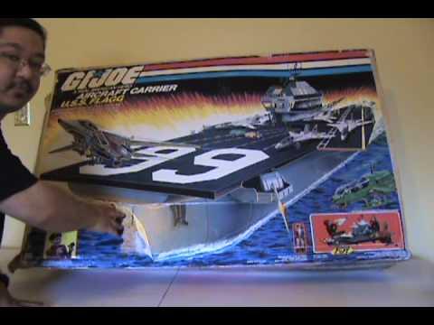 1985 G I Joe Uss Flagg Review Part 1 Youtube